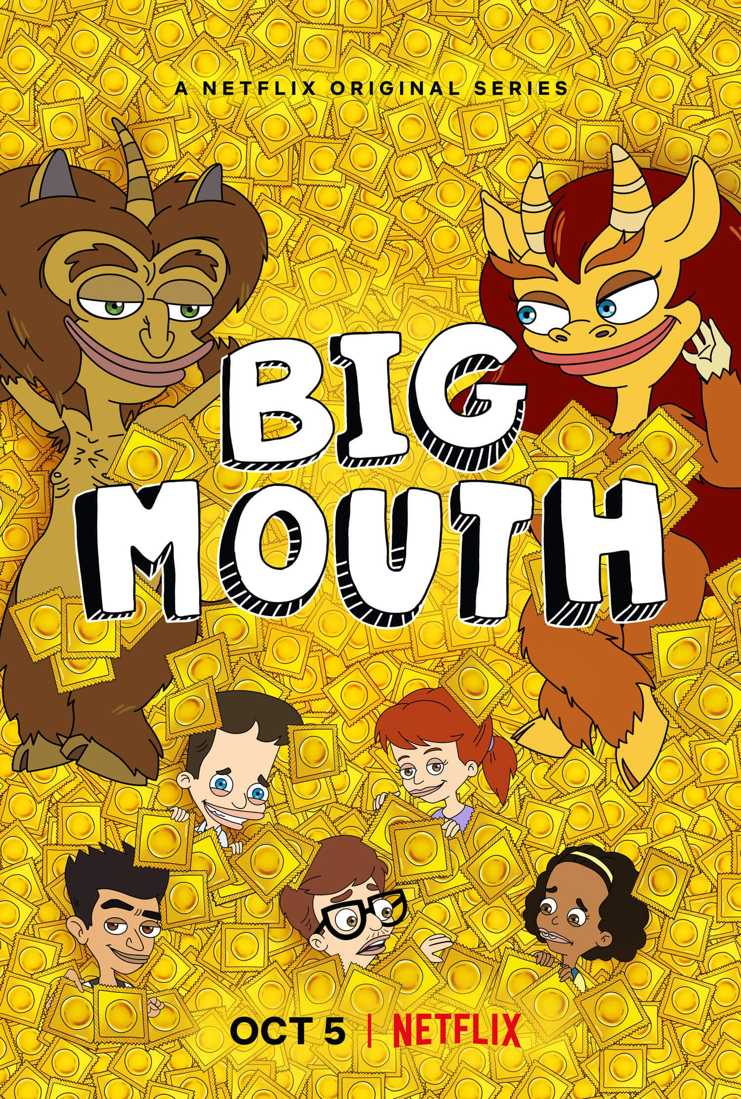 affiche big mouth saison 2