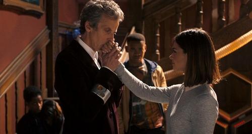 Clara et le Docteur dans Face the Raven