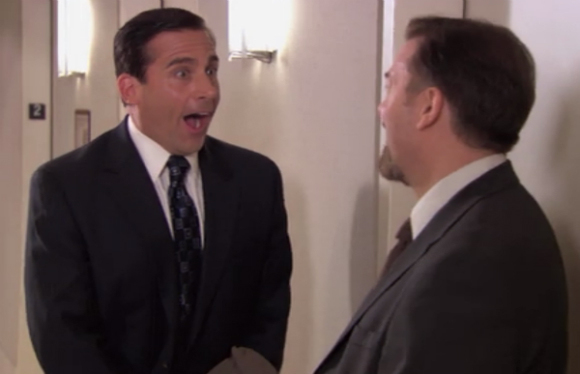 David Brent et Michael Scott réunis