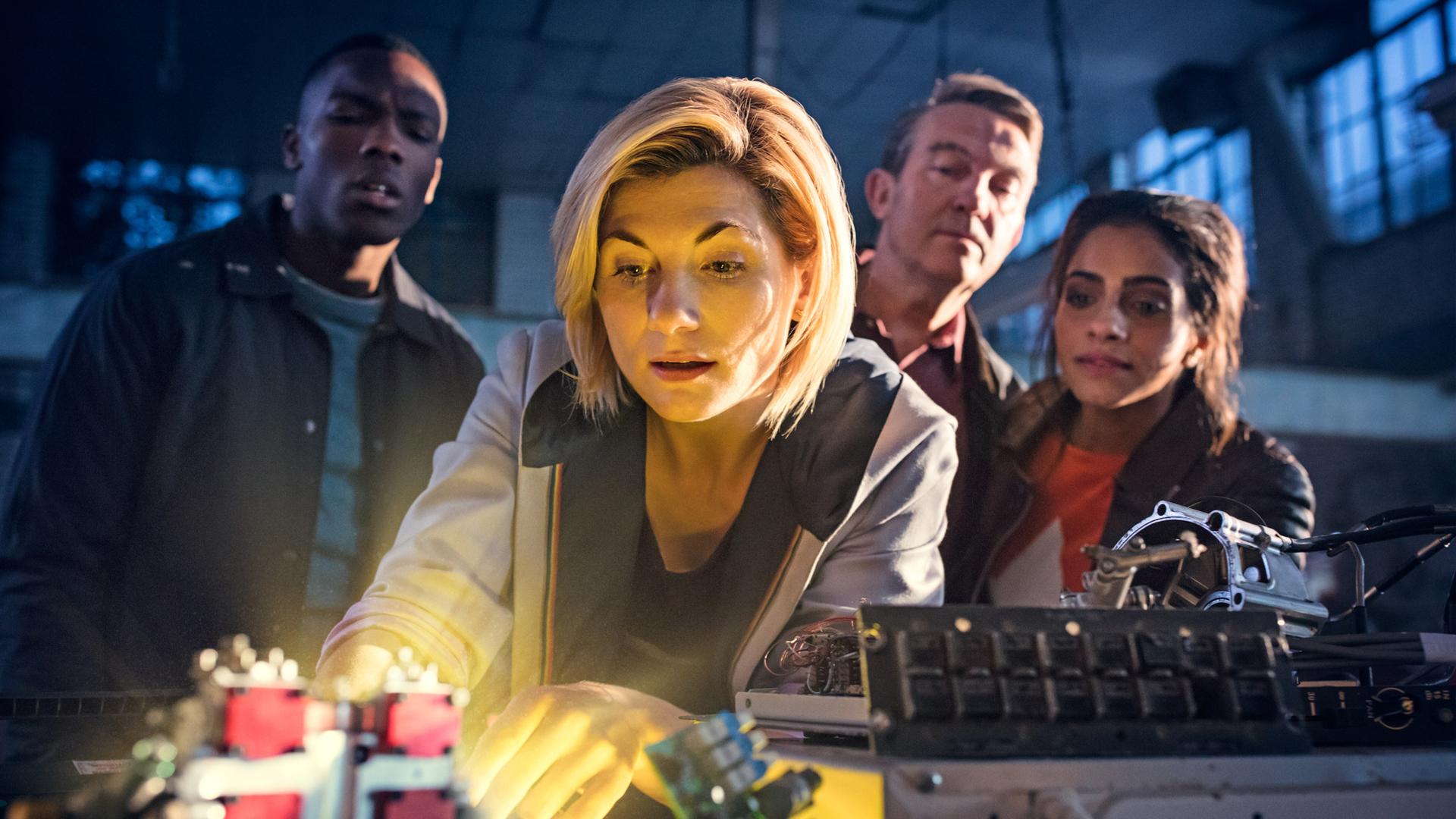 La nouvelle Docteur et ses compagnons