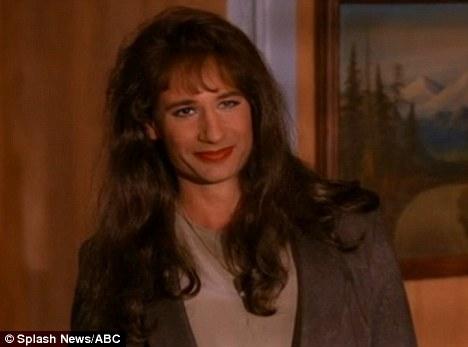 David Duchovny en Denise dans Twin Peaks