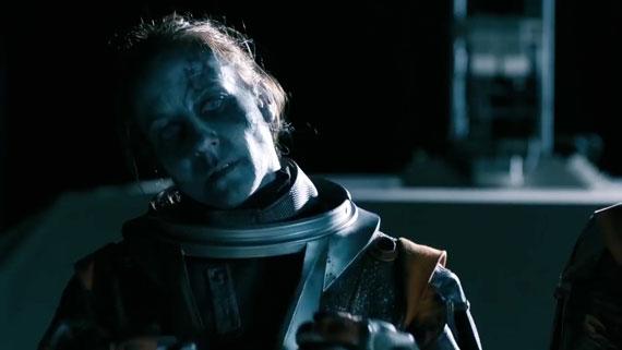 Une morte-vivante de l'espace.