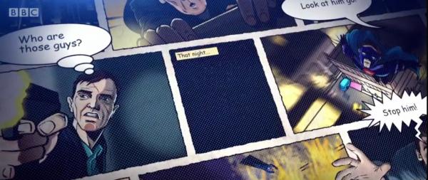 Planche de comics