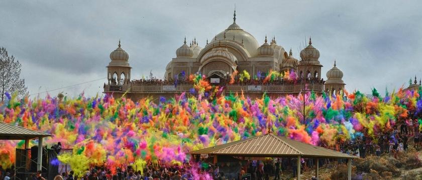 Vrack très favorable - fête colorée en Inde