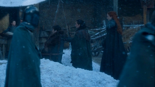The Spoils of War, les Stark à Winterfell