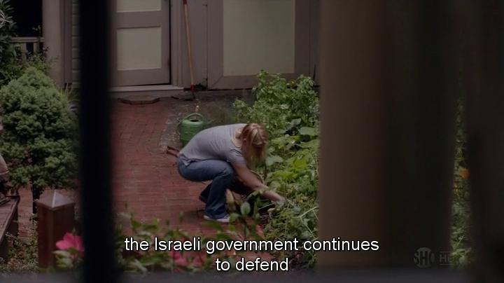 Carrie au jardin