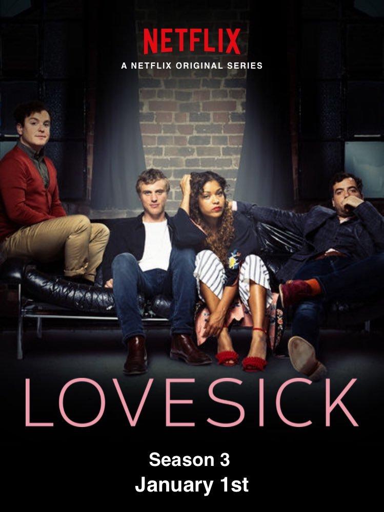 poster lovesick saison 3