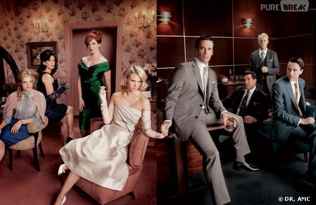 Photo promo Mad Men saison 2