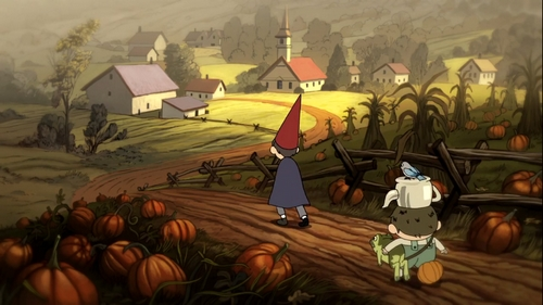 Over the Garden Wall - Champ de citrouilles