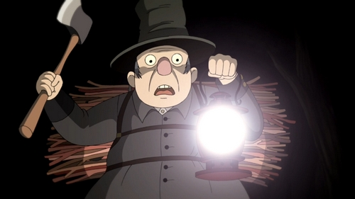 Over the Garden Wall - le Bûcheron et la Lanterne