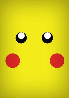 Fonz Vrickavrack neutre : Pikachu en mode minimaliste