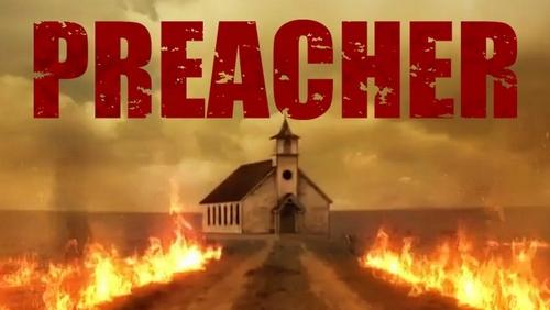 Eglise en feu