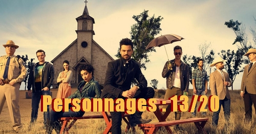 Note personnages