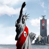 Hype Level Statue of Liberty Nazi