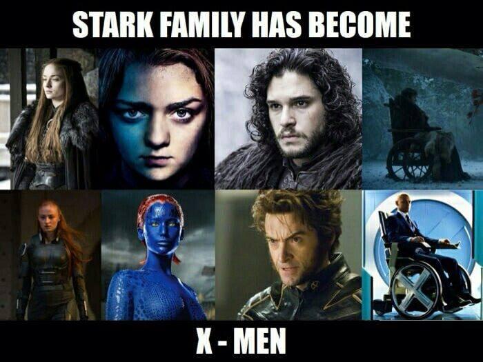La famille Stark est devenue les X-Men