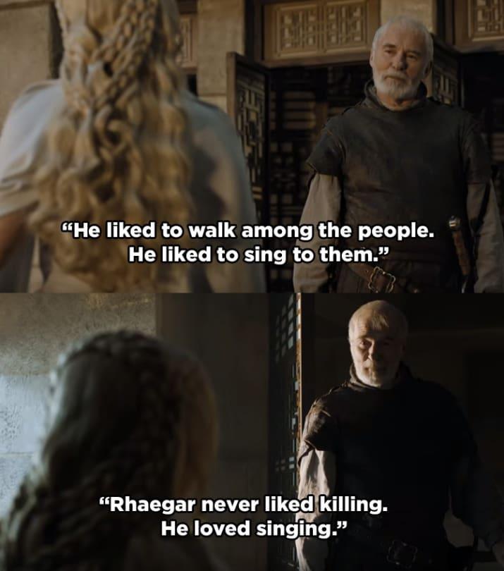 Rhaegar aimait danser