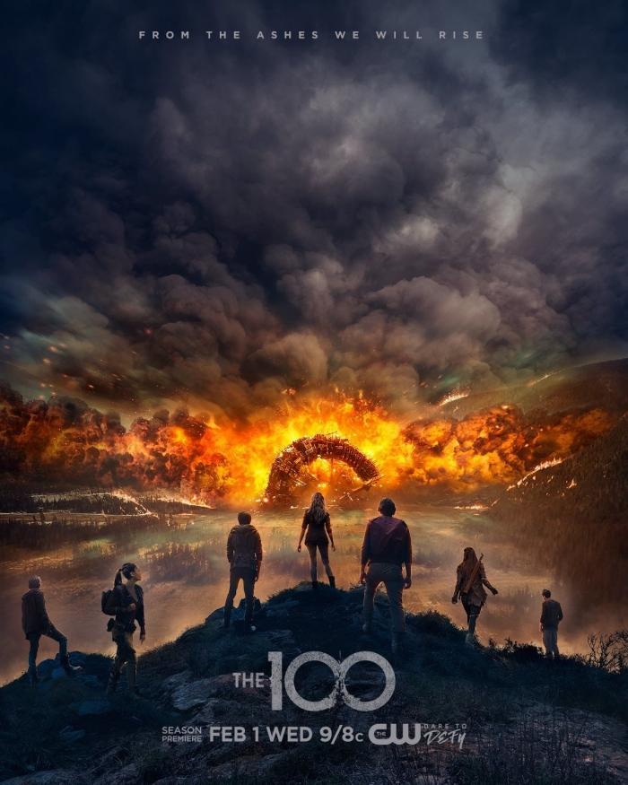 Affiche - The 100 saison 4