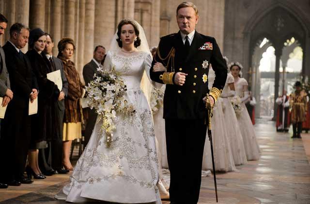 Elizabeth II et son père
