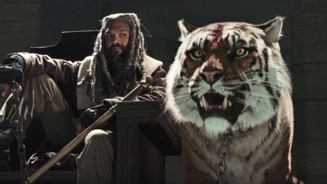 The Walking Dead - Ezekiel et Shiva