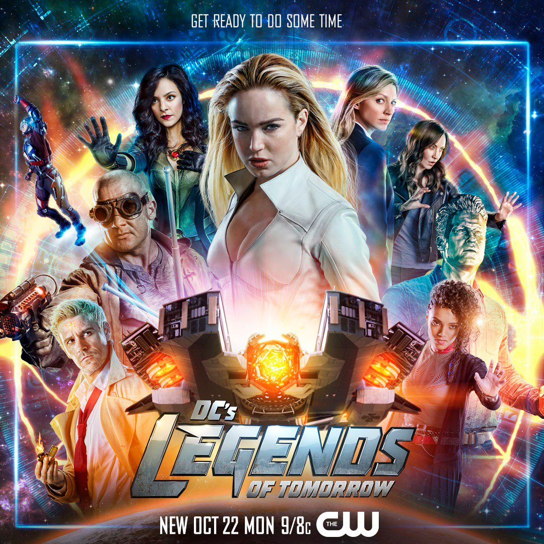 affiche DC Tommrow of Legend saison 4