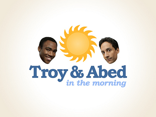 troy and Abed in the mourning