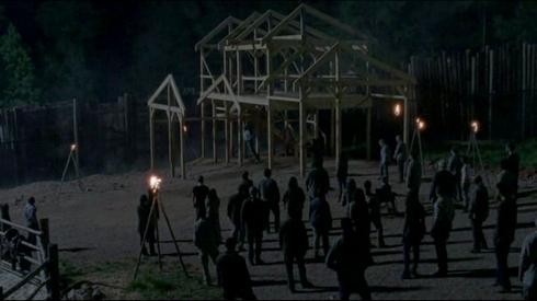 The Walking Dead 9.01 : Gregory pendu