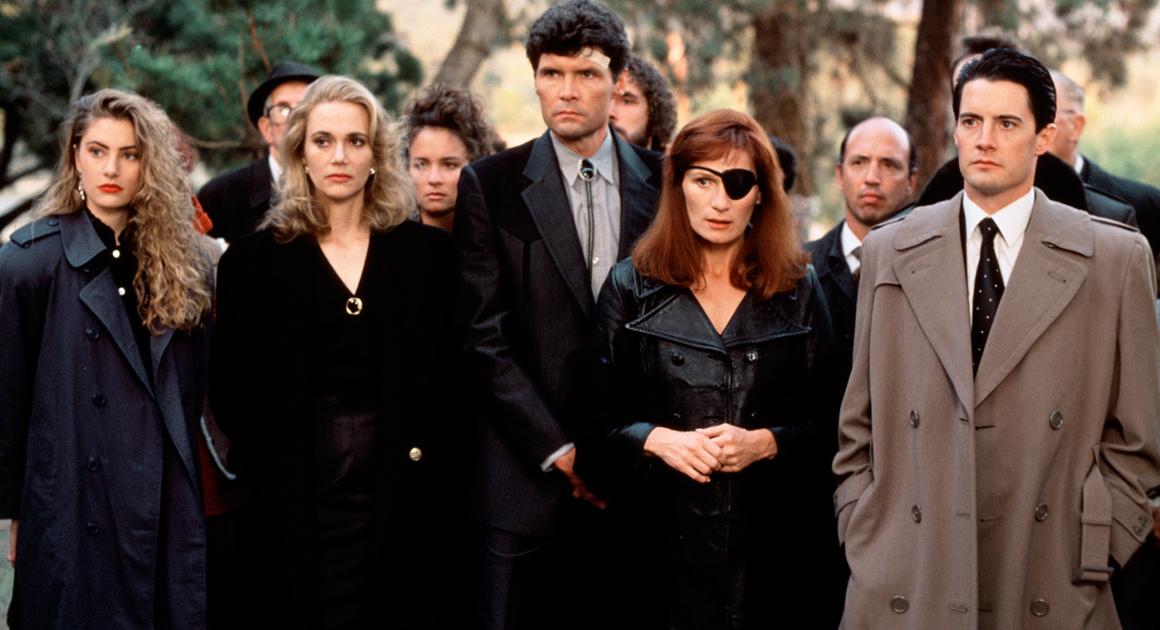 Twin Peaks : scène de l'enterrement de Laura Palmer