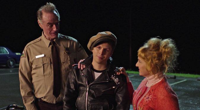 Andy, Lucy et leur fils (Michael Cera)