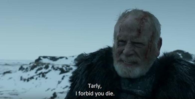 Mormont à Sam