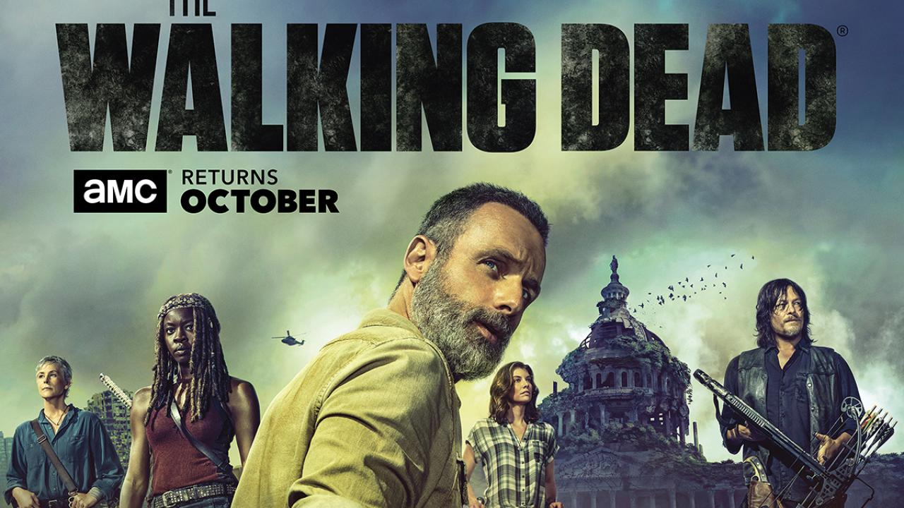affiche walking dead saison 9