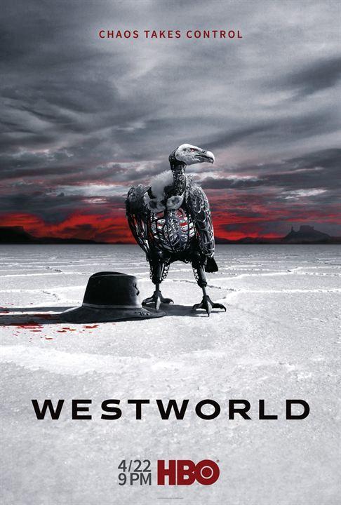 affiche westworld saison 2