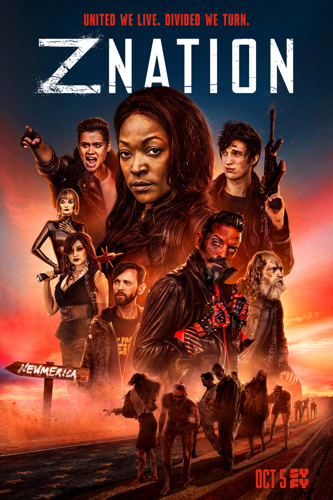 affiche z nation saison 5