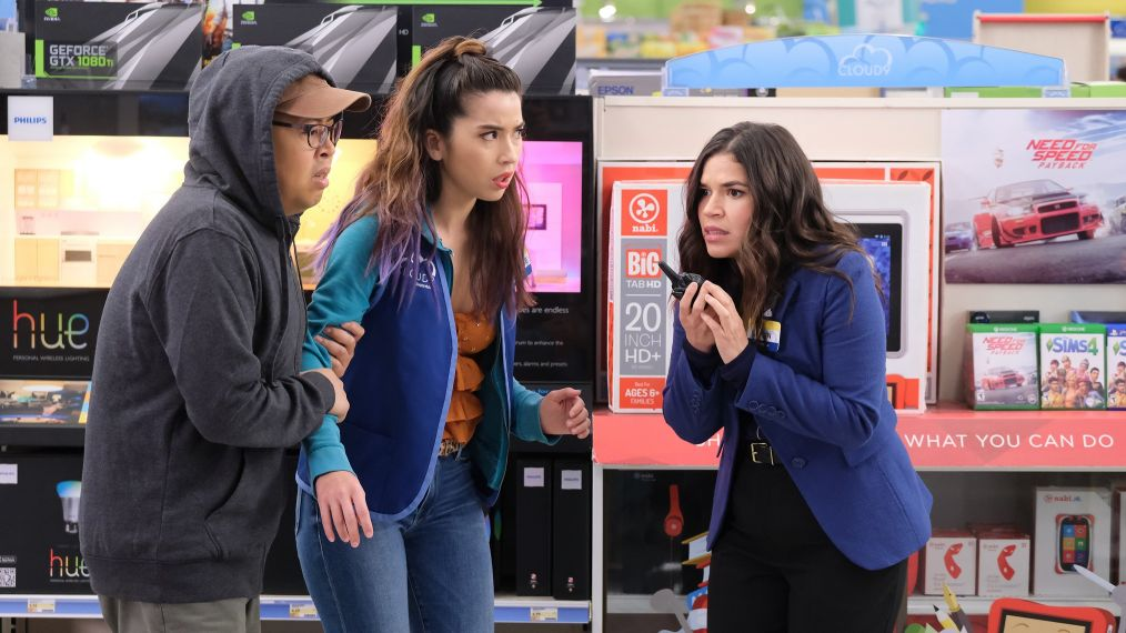 Matheo, Cheyenne et Amy de Superstore