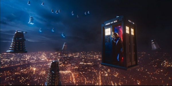 Joli plan TARDIS Daleks