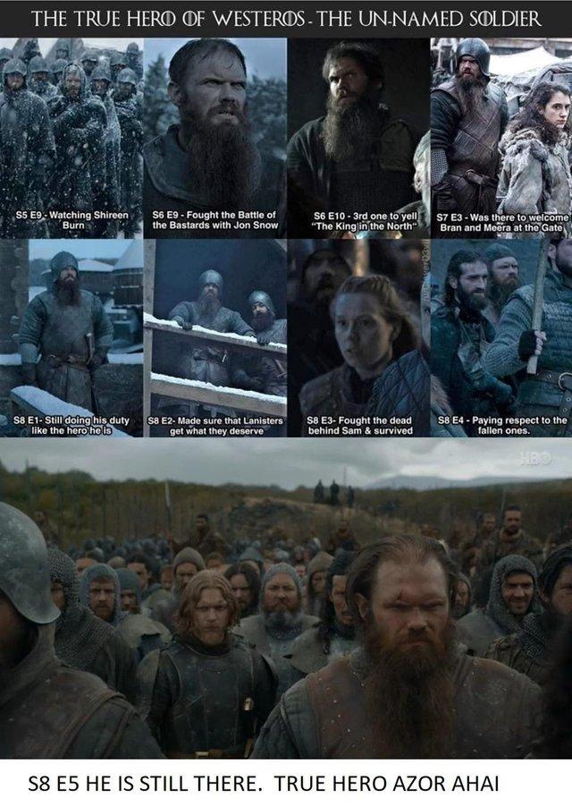 Le Héros Figurant de Westeros