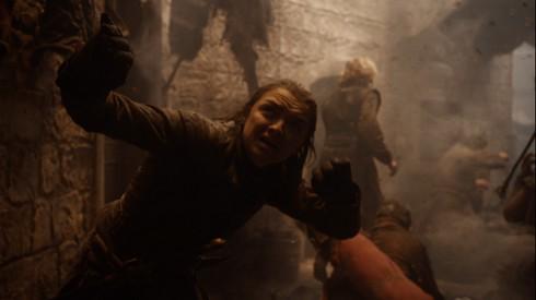 Arya et Drogon