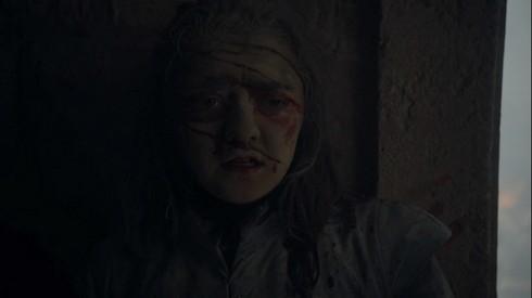 Arya face à la mort