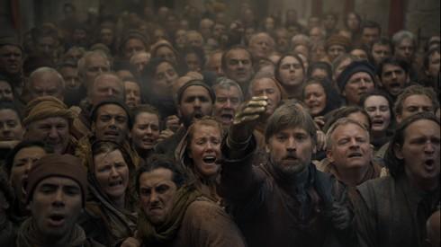 Jaime parmi la foule