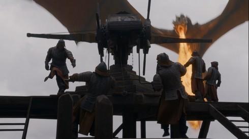 Drogon détruit la flotte