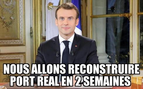 Macron King's Landing