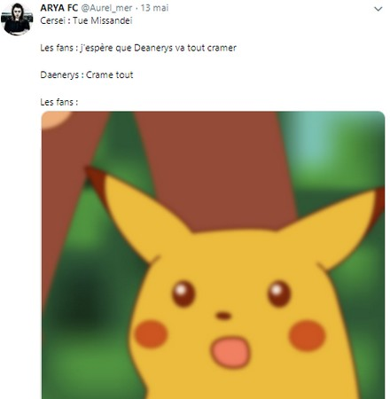 Tweet hypocrite fans Daenerys