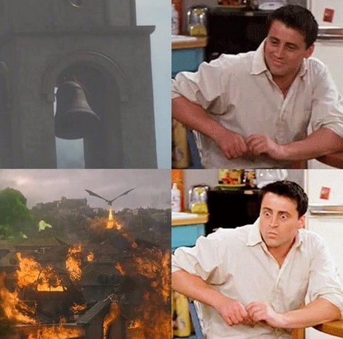Réaction aux cloches