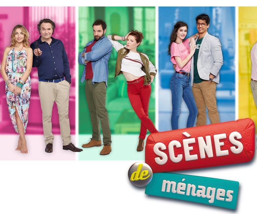 Image promotionnelle avec les trois autres couples