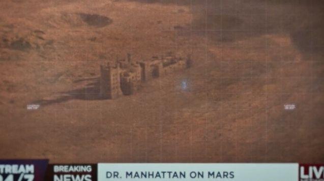 Le Docteur Manhattan sur Mars