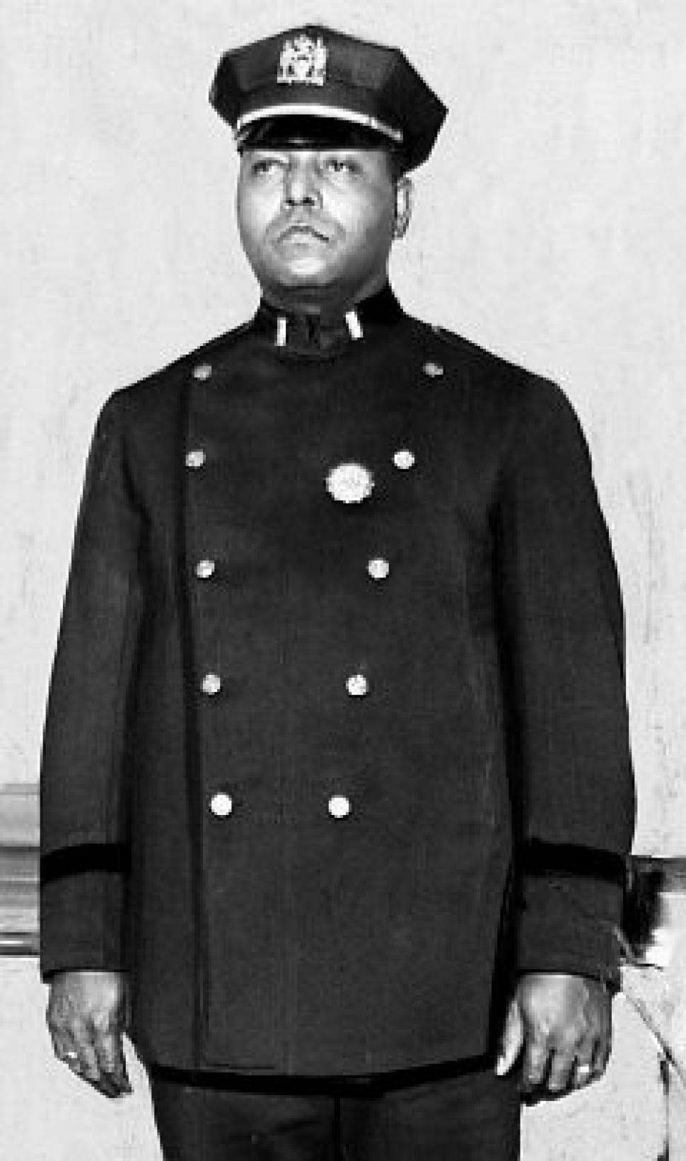 Samuel Jesse Battle, premier officier noir de la police de New York