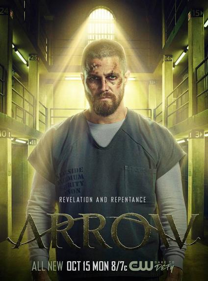 Arrow saison 6 affiche